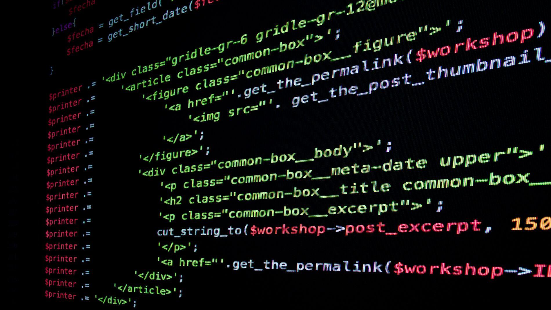 Desarrollo Web código