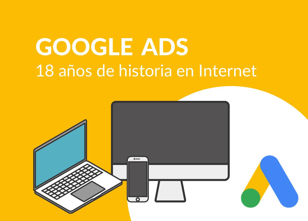 Diferentes dispositivos donde puedes utilizar Google AdsWords.